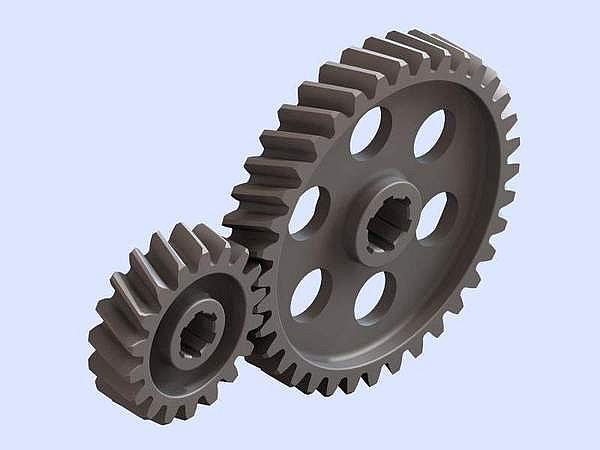 Косозубые колеса