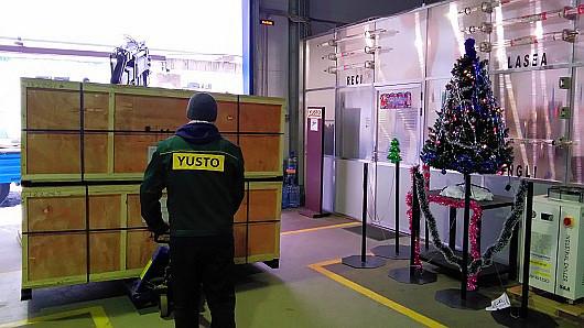 Разгрузка лазерных станков