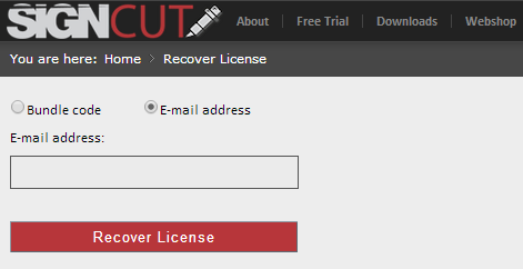 recover-license